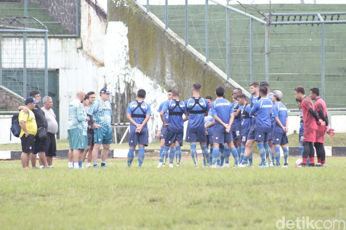 Latihan Persib Bandung menjelang Liga 1 2020.