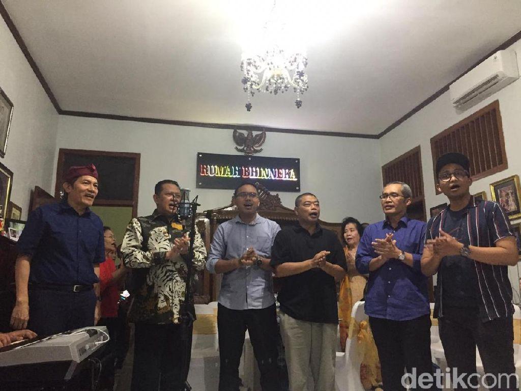 Eks Pimpinan KPK Saut Situmorang Bikin Rumah Bhinneka, Ketua MPR Bamsoet Hadir