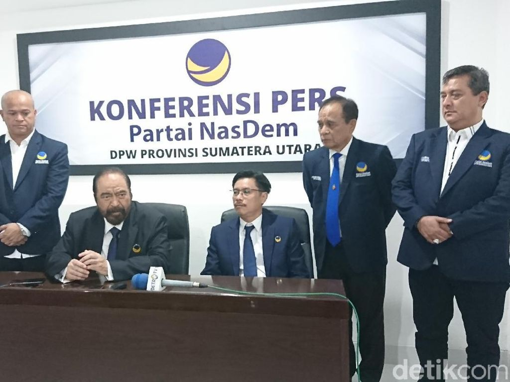 Surya Paloh: Bobby Calon Terbaik di Pilwalkot Medan, NasDem Dukung Penuh