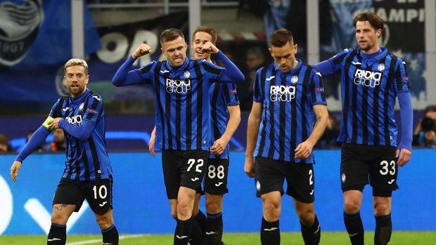 Atalanta bangkit dari hasil buruk dan berhasil lolos ke 16 besar Liga Champions.