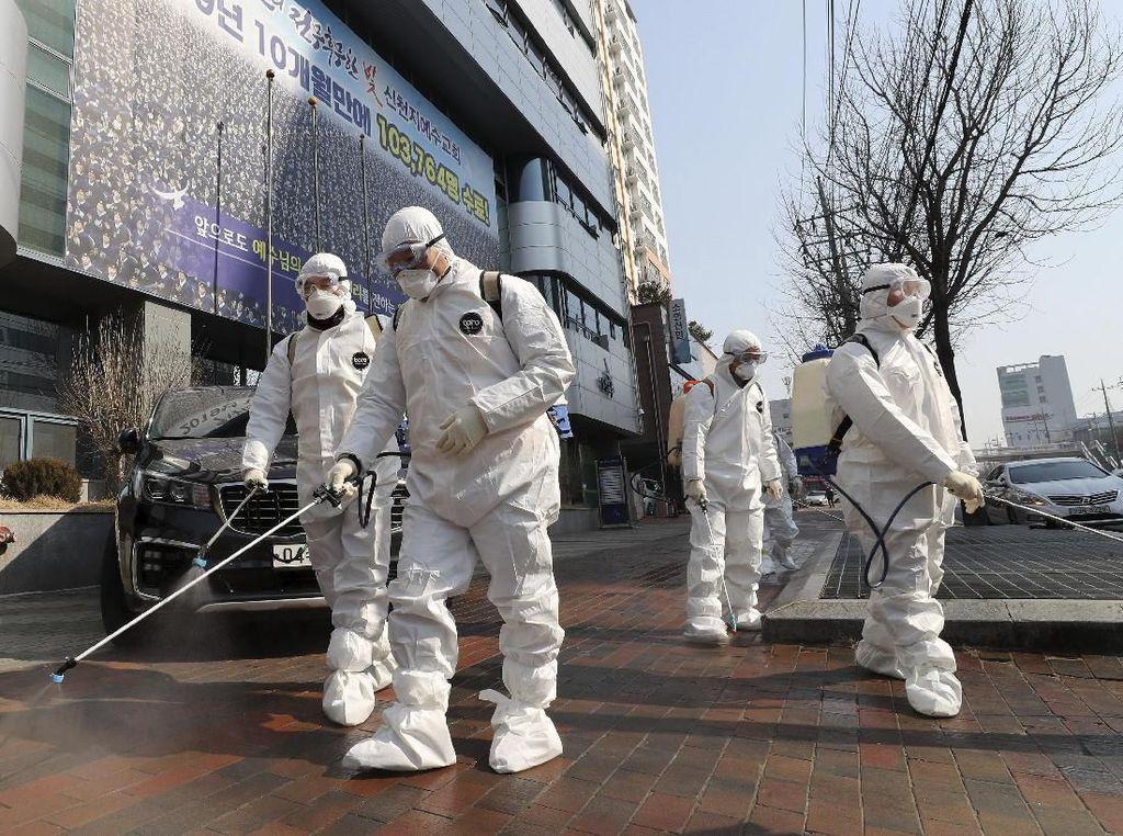 5.766 Orang Terinfeksi Virus Corona di Korsel, 88 Pasien Sembuh
