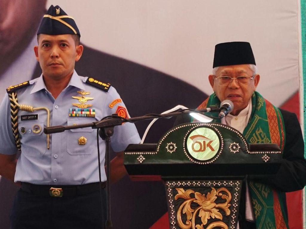 Momen Maruf Amin Resmikan Bank Wakaf Mikro di NTB