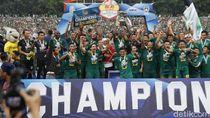 Video Euforia Persebaya Usai Tekuk Persija, Rebut Piala Gubernur Jatim