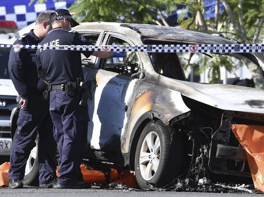 Pria di Australia Bakar Mobil, Istri dan 3 Anaknya Tewas