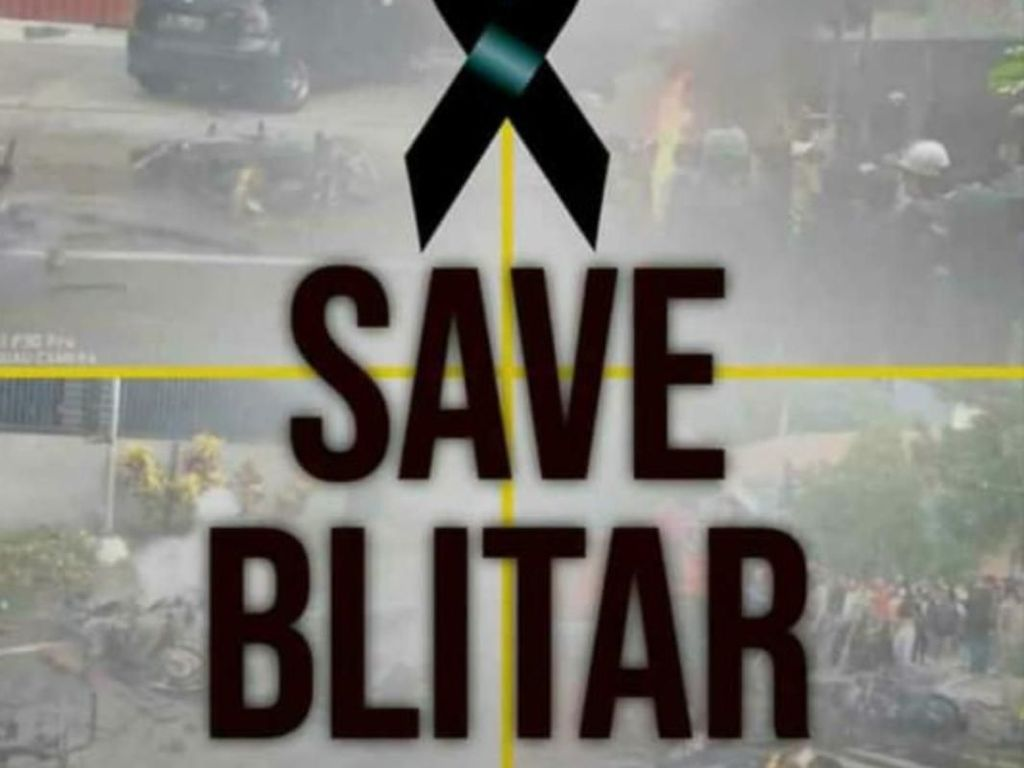 Gerakan Save Blitar Menggema di Medsos Pascalaga Persebaya vs Arema