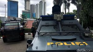 Rantis dan Baracuda Siap Kawal Pemain Persija Jakarta