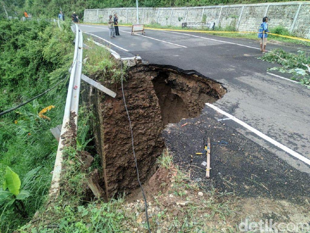 Jalan Penghubung Ponorogo-Pacitan Amblas, Sistem Buka Tutup Diberlakukan