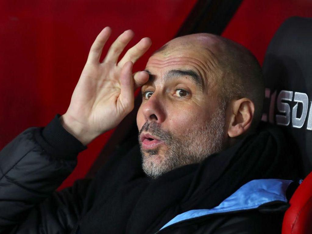 Jleb! Guardiola Belum Lihat MU sebagai Pesaing Juara Liga