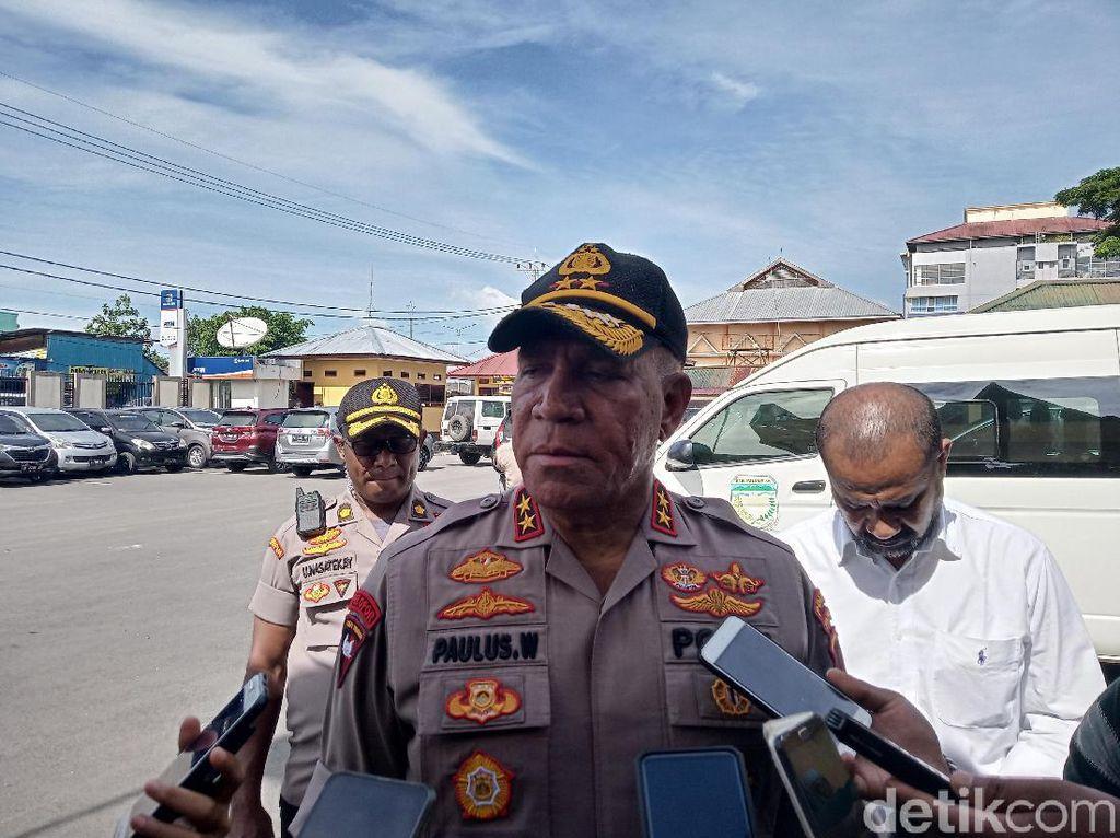 Cek Kasus Perusakan Kantor Bupati, Kapolda Papua Bertolak ke Waropen