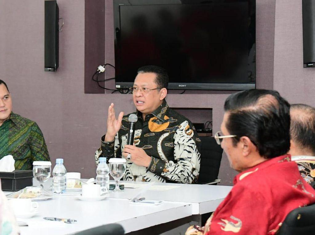 Ketua MPR Sebut Pokok-Pokok Haluan Negara Bisa Cegah Proyek Mangkrak