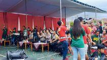 Nobar Bareng Polisi, Laros Persewangi Banyuwangi Ikut Senang Persebaya Juara