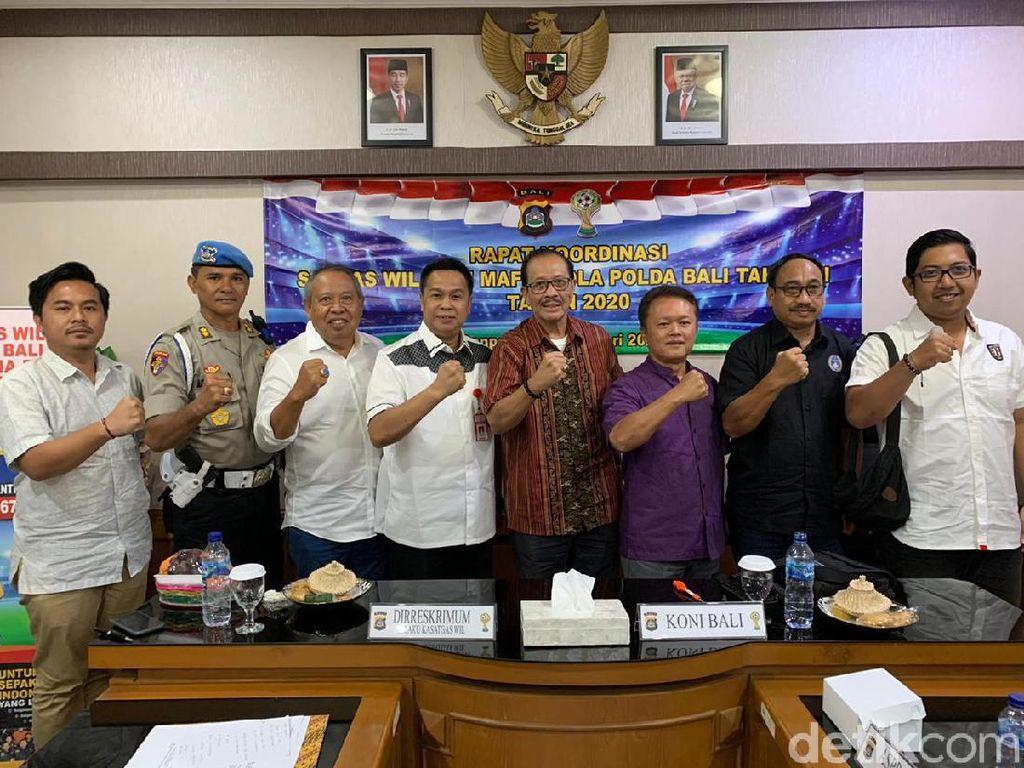 Jelang Liga 1 2020-2021, Polda Bali Bentuk Satgas Antimafia Bola