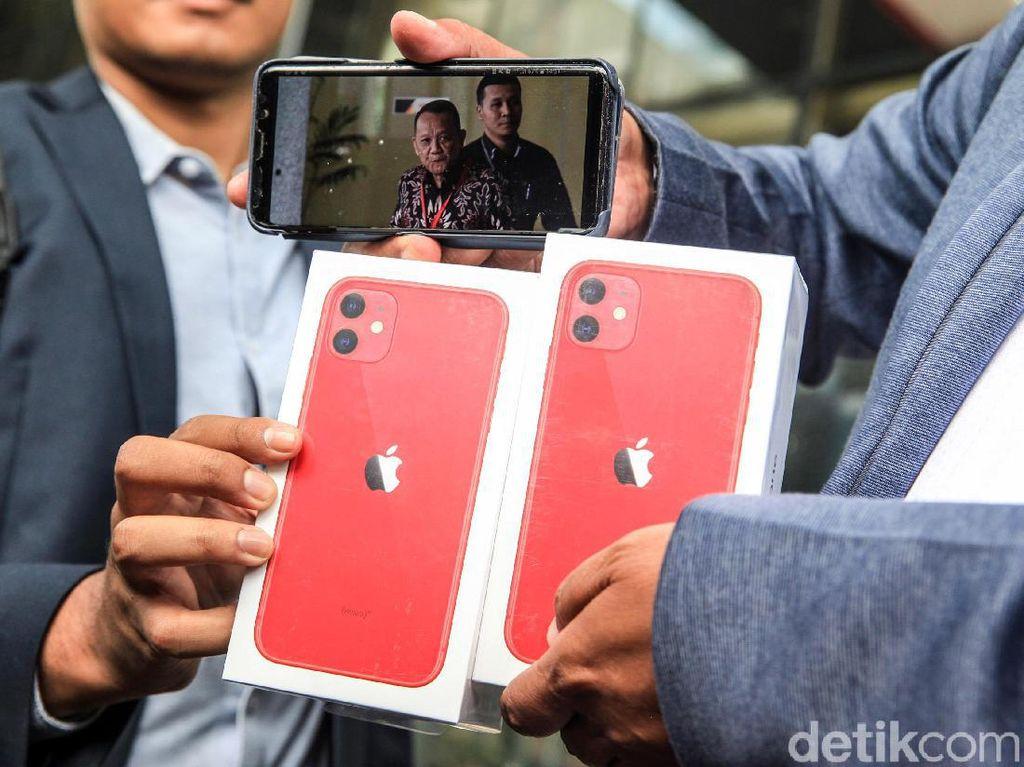 Ini iPhone 11 yang Jadi Hadiah Sayembara Nurhadi-Harun Masiku
