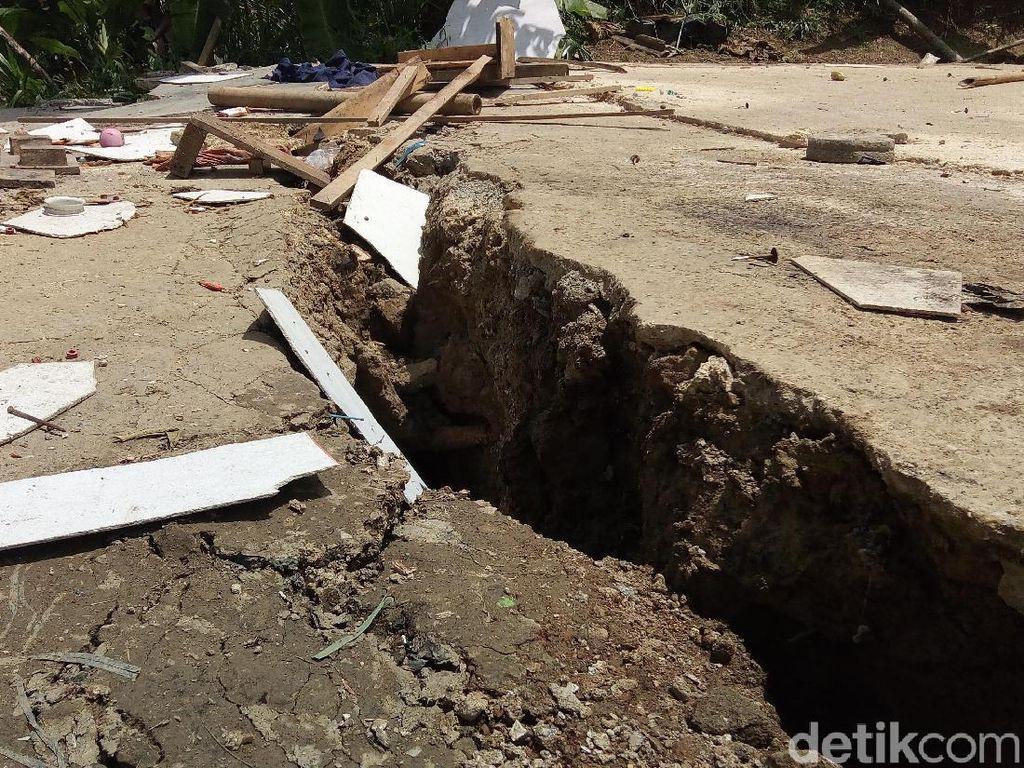 Tanah Gerak di Banjarnegara, Warga Diimbau Siaga Longsor