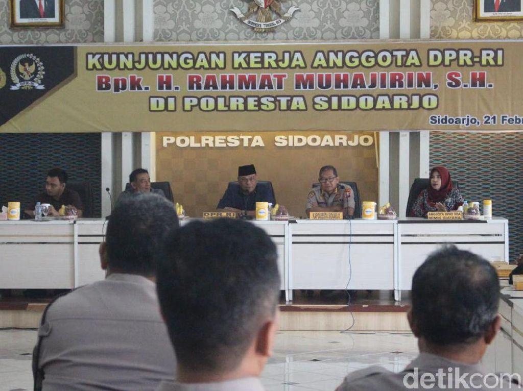 Cegah Dana Desa Dikorupsi, DPR RI Minta Polisi Ikut Lakukan Pengawasan