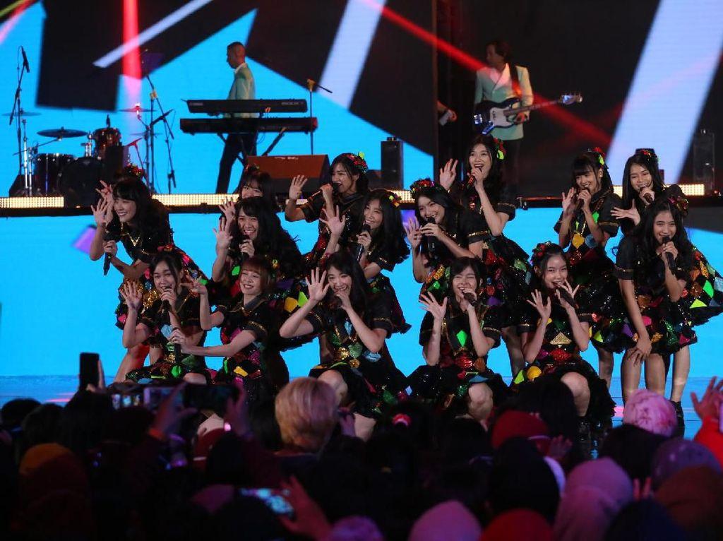 Ciamik! JKT 48 hingga Ungu Buka Konser Korean Wave In Love
