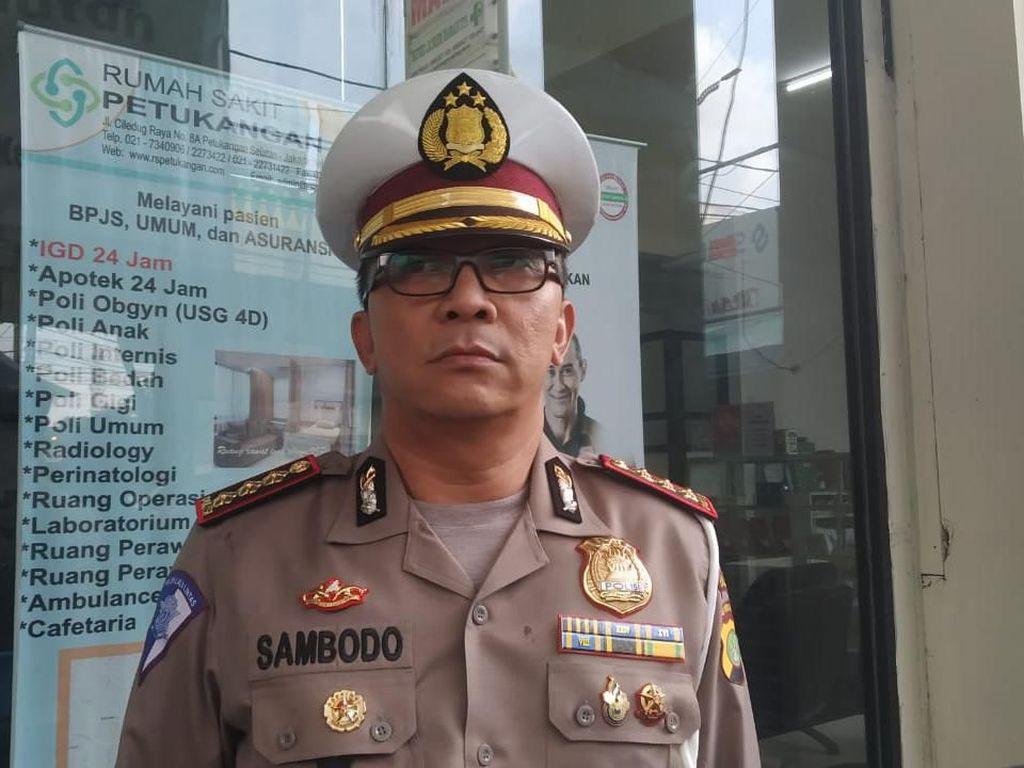 Polisi Cium Bau Alkohol dari Sopir Penabrak Pekerja Proyek di Tol JORR