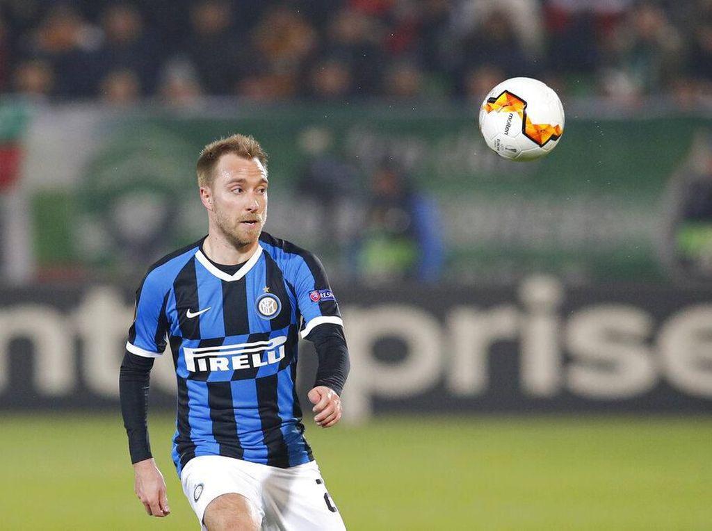 Ludogorets Vs Inter: Video Gol Pertama Eriksen buat Nerazzurri