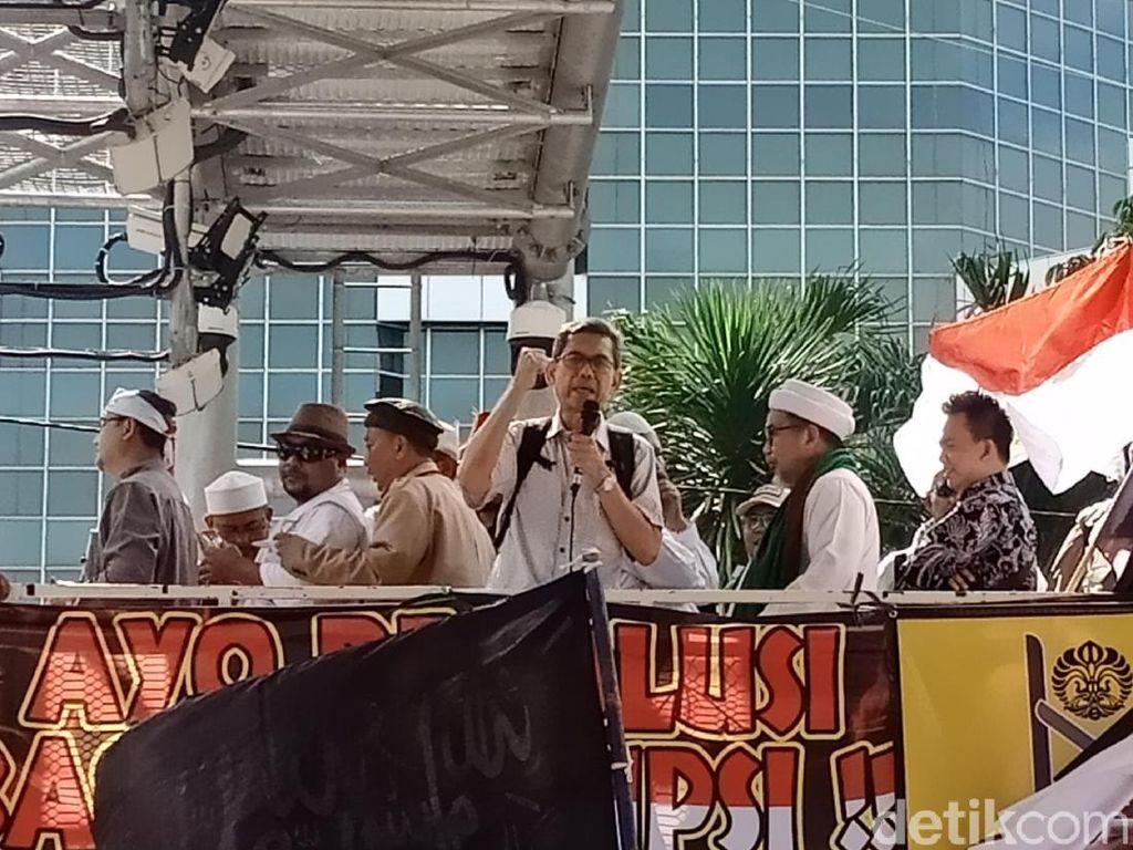 Orator Aksi 212 Senggol Ahok, Tak Rela Dijadikan Komut Pertamina