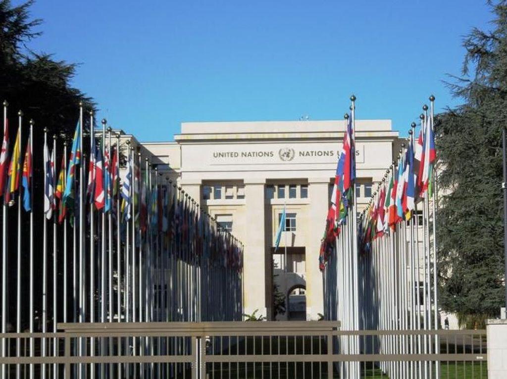 Mumpung di Jenewa, Singgah di Kantor PBB, Ah!