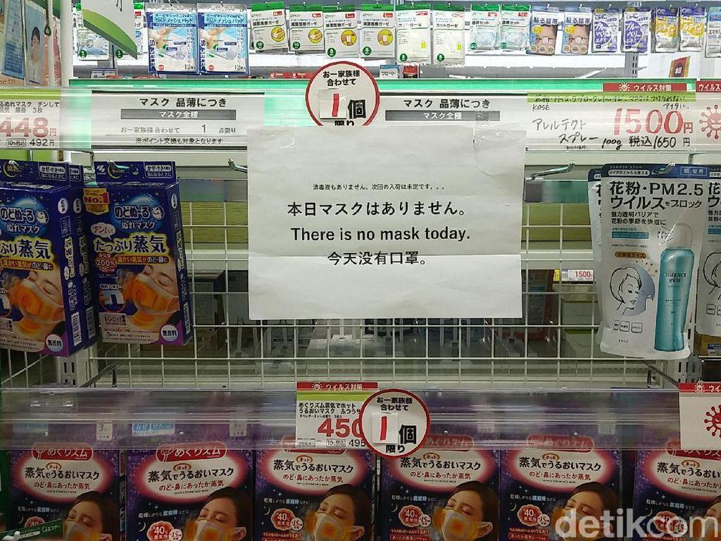 Perhatian Traveler, Masker di Jepang Mulai Langka