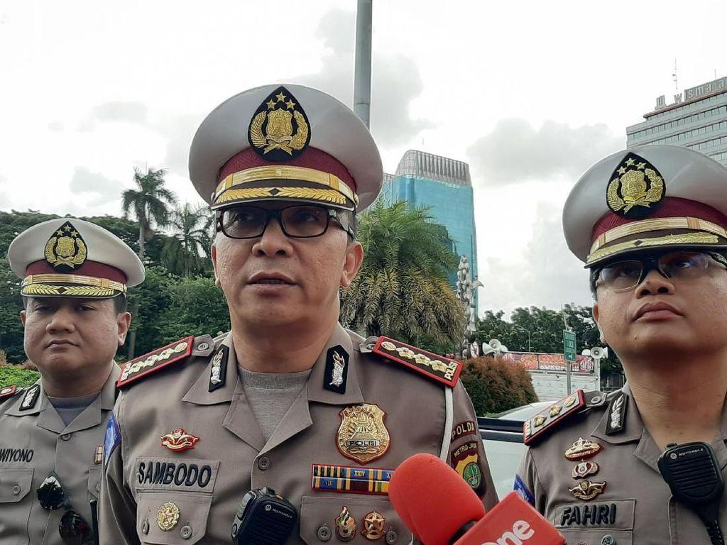 Soal Lalin DKI di Masa PSBB Transisi, Polisi: Hampir Mirip Sebelum Pandemi