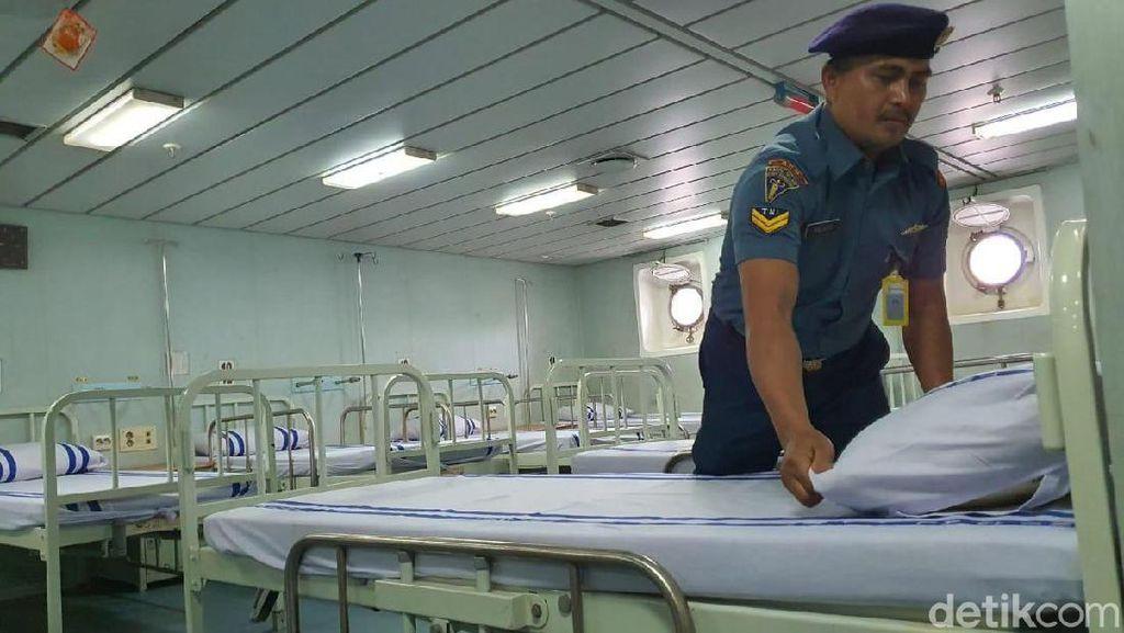 KRI Dr Soeharso Siap Jemput 74 ABK di Jepang, Seperti Apa Isinya?