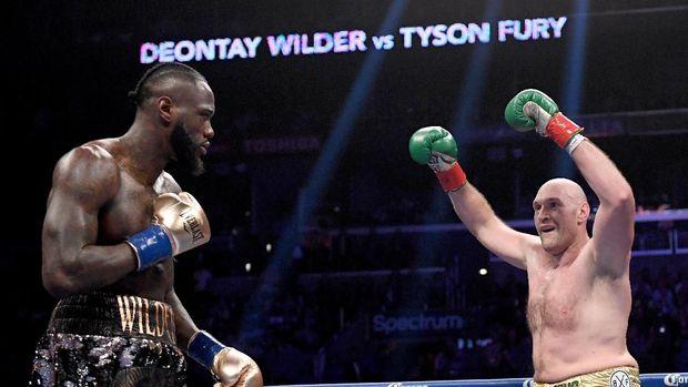 Deontaw Wilder mengaku masih siap bertarung sebelum dinyatakan KO.