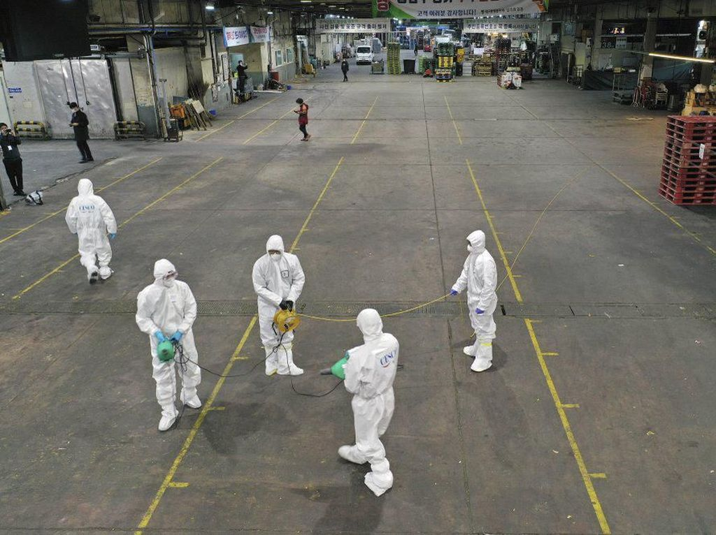 Potret Kota Hantu Daegu Pasca Virus Corona