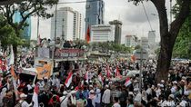 Aksi 212 Masih Berlangsung, Polri Kembali Ingatkan Massa agar Tertib