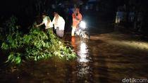 Banjir Rendam 2 Desa di Dua Kecamatan di Probolinggo