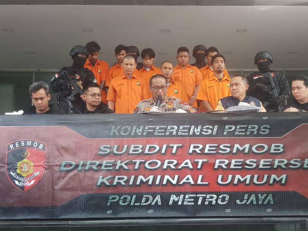 40 Kali Beraksi di DKI, Komplotan Pelaku Curanmor Didor Polisi