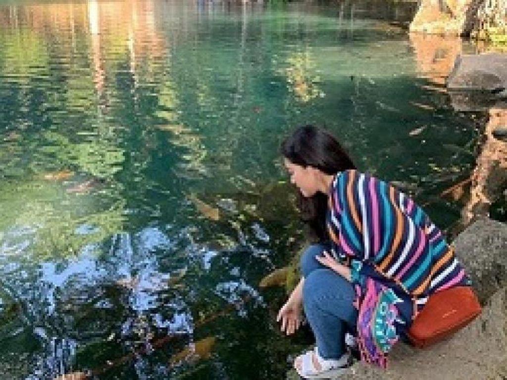 Terpukau Danau Mungil Berair Bening Situ Cicerem Kaduela di Kuningan