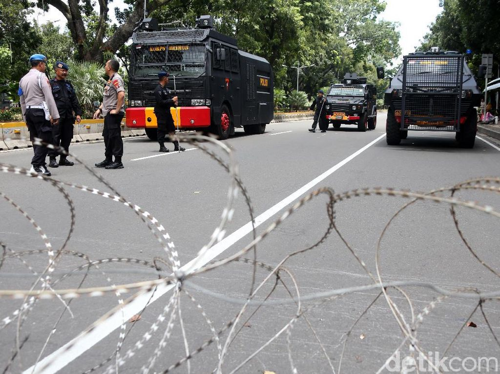 Pengamanan Aksi 212 di Monas Diperketat