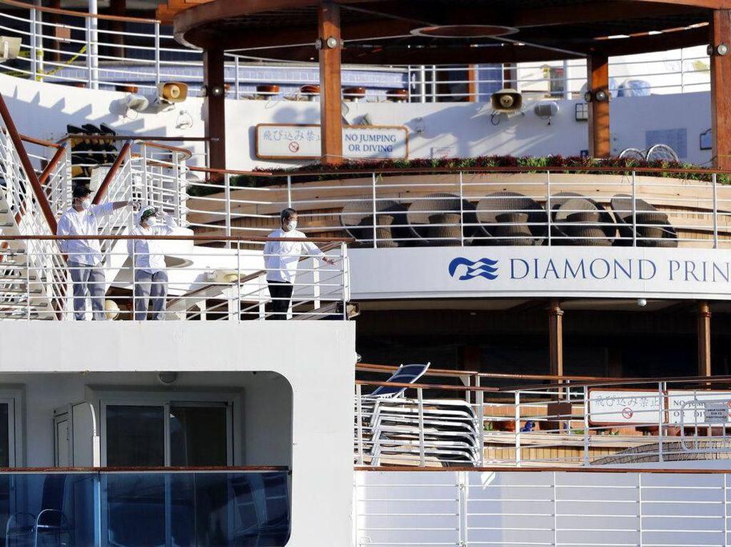 Semua 9 WNI ABK Diamond Princess di Jepang Sembuh dari Corona