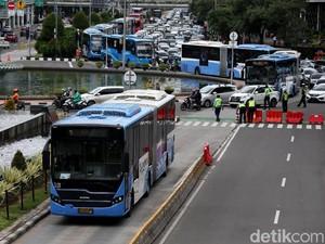 Ada Demo di Istana dan Kedubes Prancis, Transjakarta Modifikasi Rute