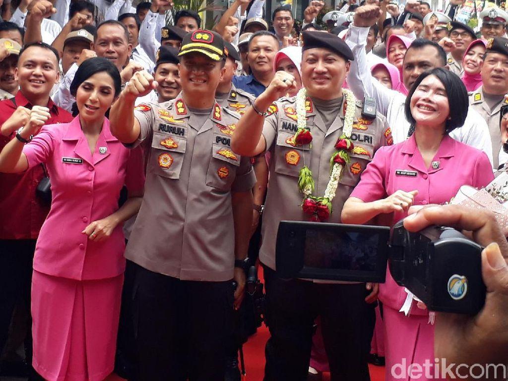 Kapolres Nanang Dimutasi ke Polda Metro Jaya