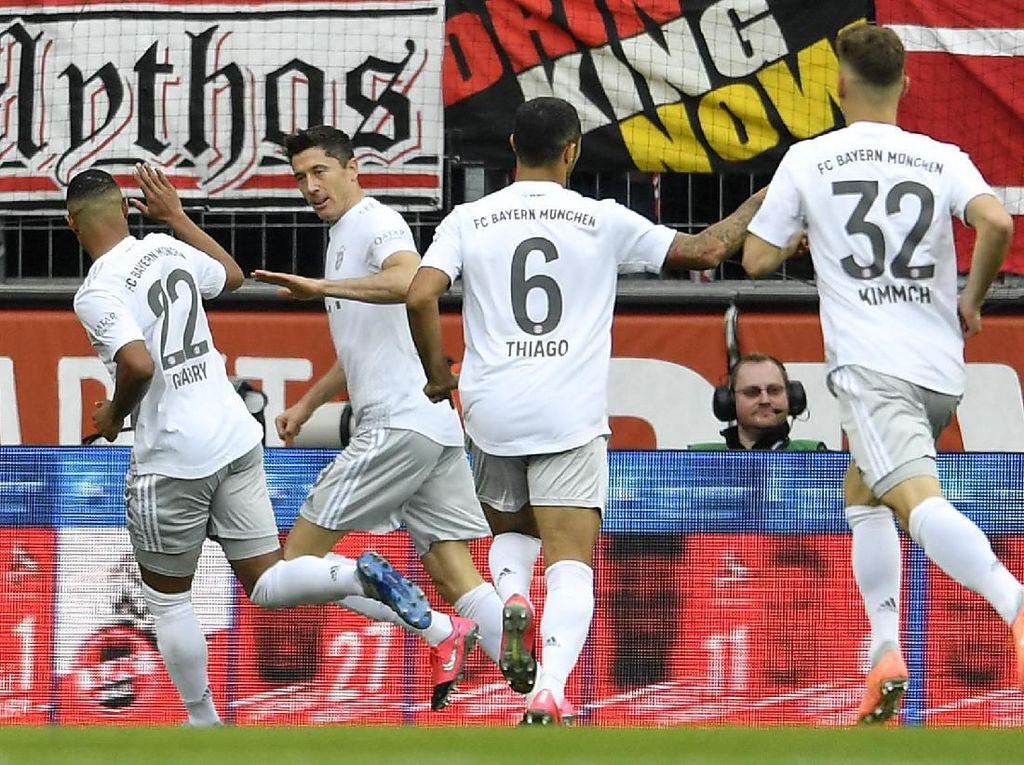 Hasil Liga Jerman: Bayern Munich Susah Payah Atasi Paderborn 3-2