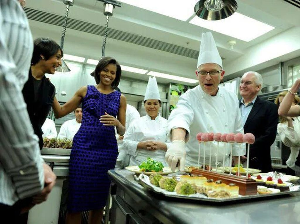 Ini yang Dikerjakan Para Chef di Gedung Putih untuk Presiden Amerika