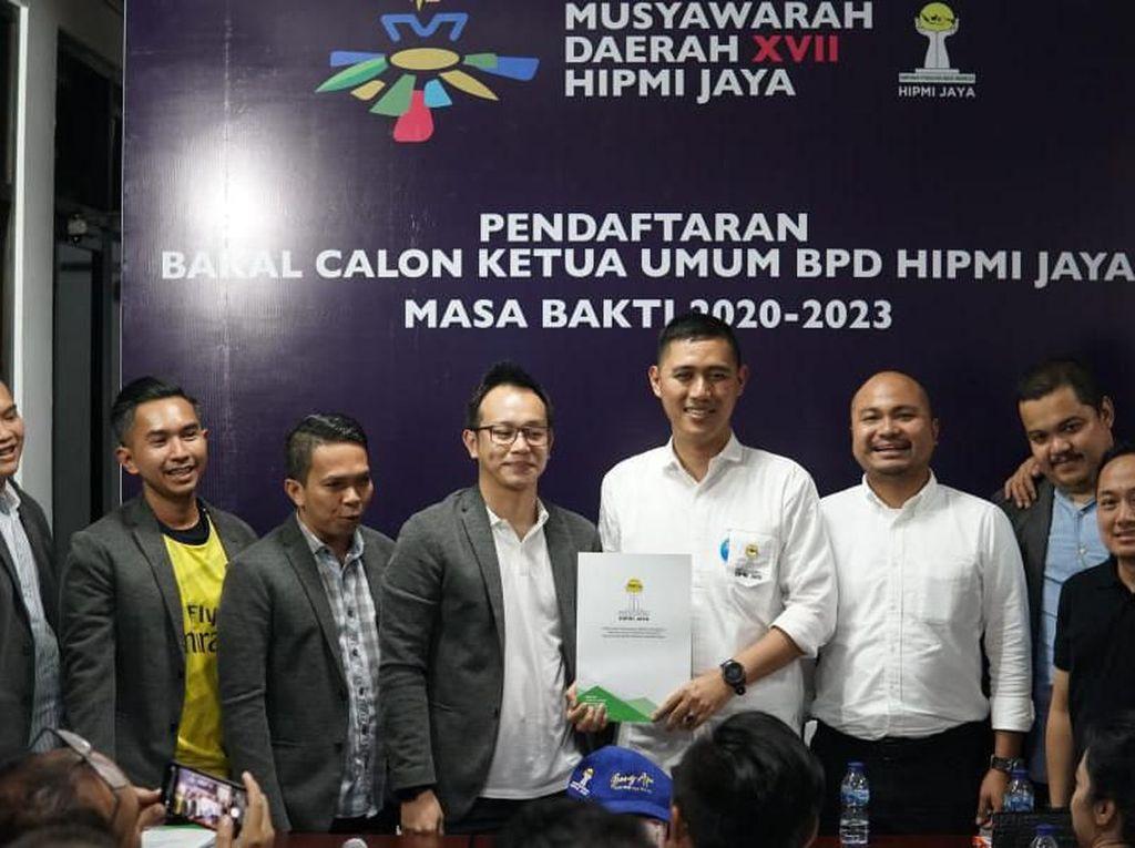 Muhamad Alipudin Resmi Jadi Calon Ketum BPD HIPMI Jaya