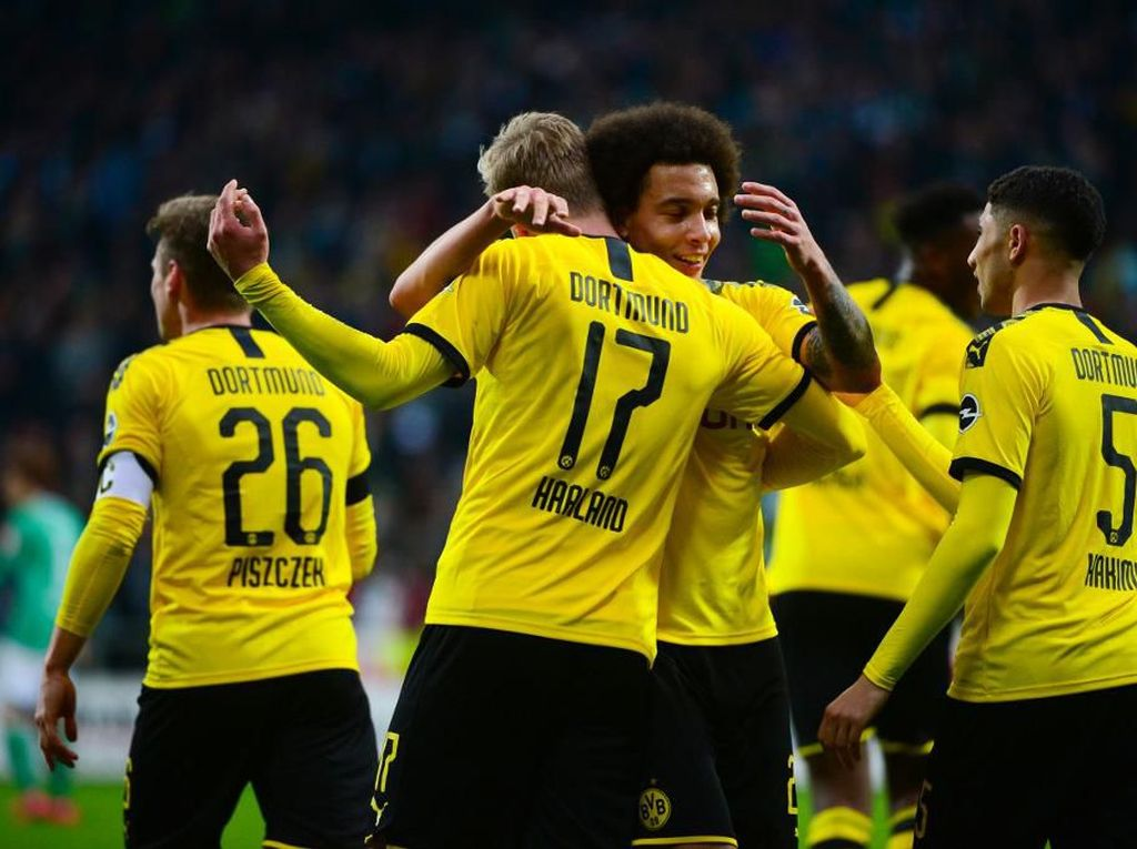Kandaskan Bremen, Dortmund Naik ke Peringkat Kedua