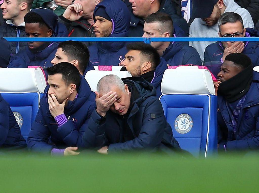 Tottenham Ditaklukkan Chelsea, Mourinho: Susahnya Tak Punya Striker