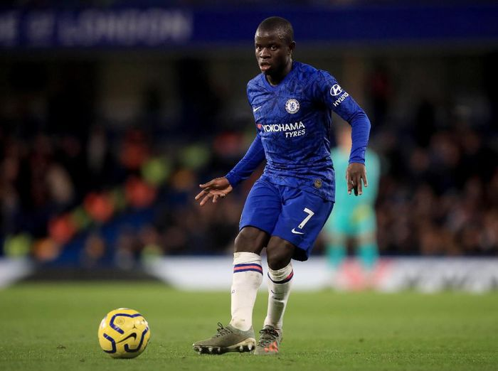 LONDON, ENGLAND - DECEMBER 26: NGolo Kante of Chelsea during the Premier League match between Chelsea FC and Southampton FC at Stamford Bridge on December 26, 2019 in London, United Kingdom. (Photo by Marc Atkins/Getty Images)