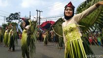 Intip Kemeriahan Karnaval Budaya di Kota Banjar