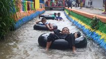 Saluran Irigasi Jadi Spot River Tubing Ala Sumedang