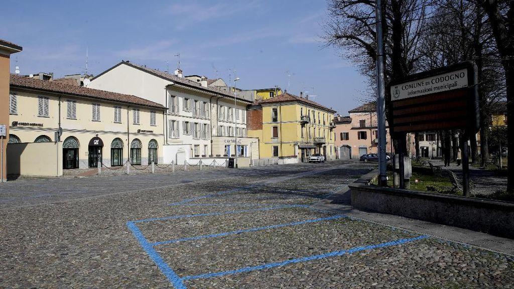 Penampakan Italia bak Kota Mati Akibat Corona