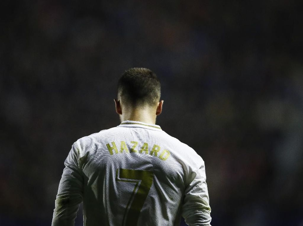 Real Madrid Tersungkur, Eden Hazard Cedera Lagi