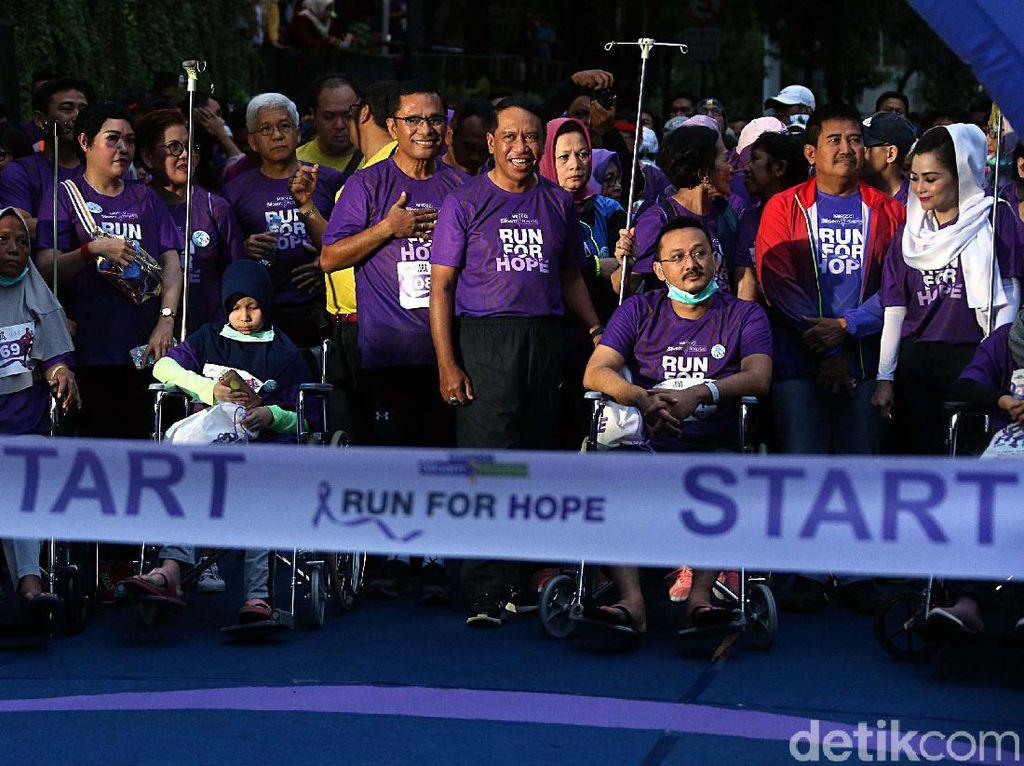 Menpora Ikuti Run For Hope