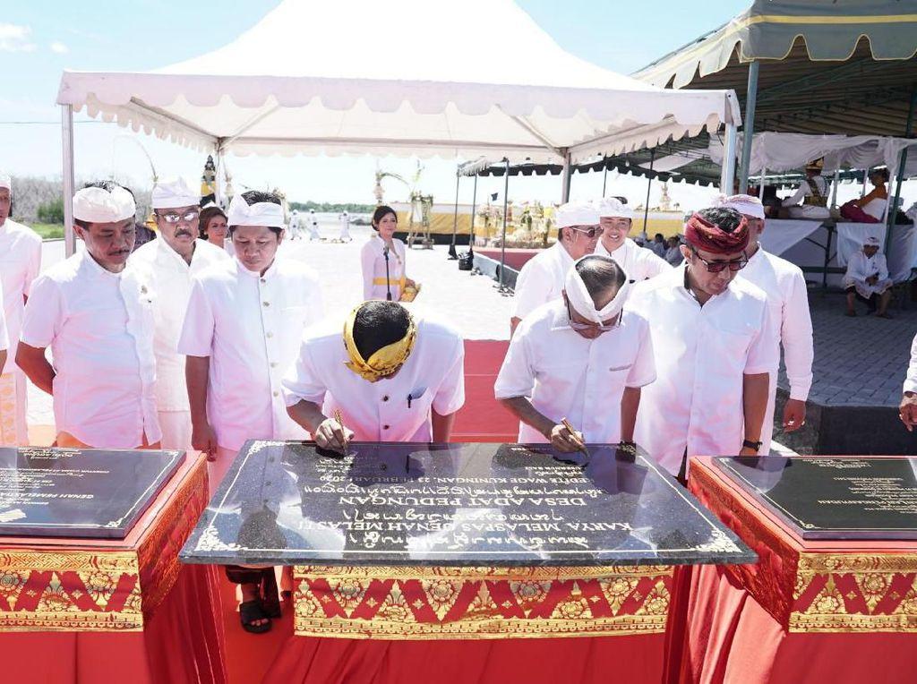 Pelindo III Resmikan Tempat Melasti Seluas 1,1 H di Pelabuhan Benoa