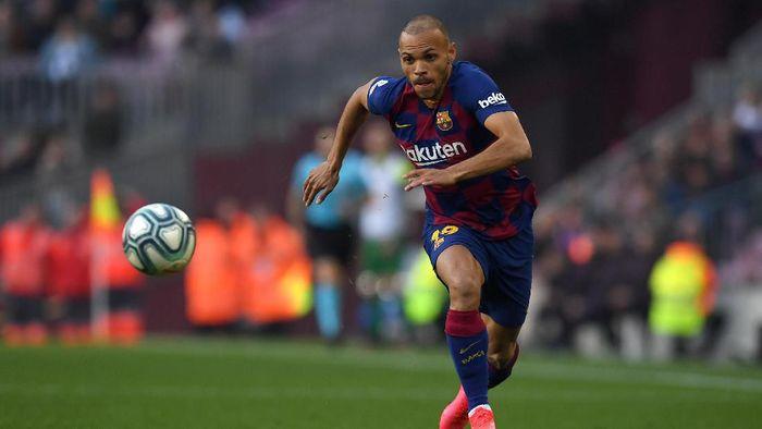 Barcelona vs Eibar Kilau Braithwaite di Laga Debutnya